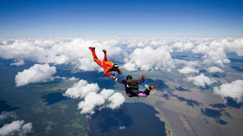 flying-from-lake-macquarie-skydiving