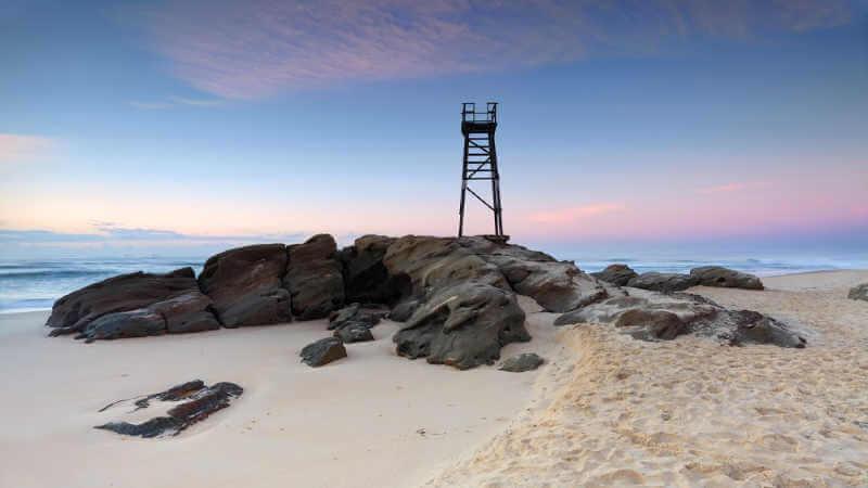 lake-macquarie-attractions-shark-tower-redhead-beach