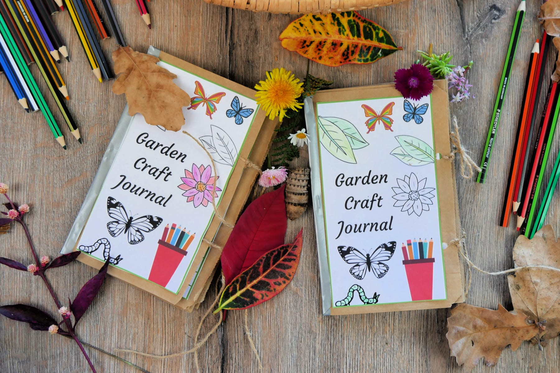 garden-diary-craft-journal